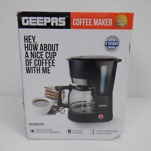 Geepas 1000W Filter Coffee Machine, 1.5L *NEW*