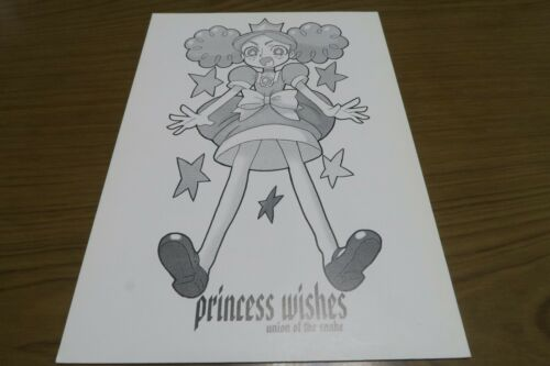 The Powerpuff Girls doujinshi Princess wishes PPG union of the sna B5 42pages