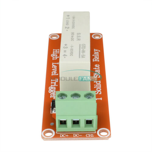 1 Channel SSR Solid State Relay High-low Trigger  For Arduino Uno R3  5A 3-32V
