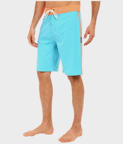 NWT Hurley Men/'s Phantom JJF Solid 21 Boardshorts Size 30 Beta Blue
