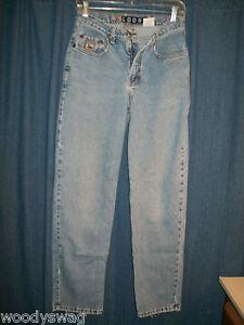 Cruel-Distress-Jeans-Size-7-Loose-Fit-Waist-28-L30-Holes