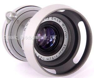 2019 Nouveau Style 39 Mm Lens Hood + Cap 52 Mm Pour Leica Summicron F = 5 Cm E39 Elmar 50 Mm F3.5 Summaron-afficher Le Titre D'origine Nous Avons Gagné Les éLoges Des Clients