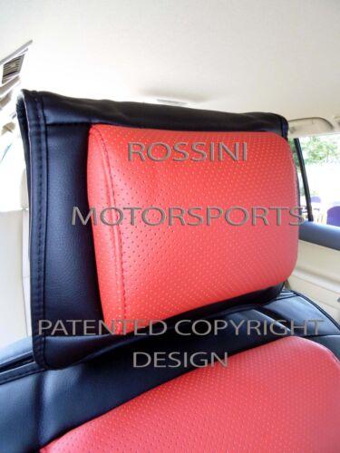 rot // Sitzbezüge I ys06 Recaro Sport Semi passend für Chrysler 300C Auto