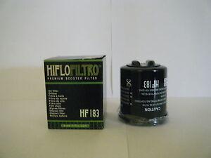 HF183-HIFLO-FILTRO-OLIO-PIAGGIO-CARNABY-125-2007-2008-2009-2010-2011-2012