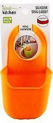 Sponge Holder Sink Caddy Storage Basket Kitchen Organization Silicone