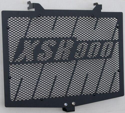 cache / Grille de radiateur noir satiné Yam XSR 900 Kenny Roberts + grill.noir