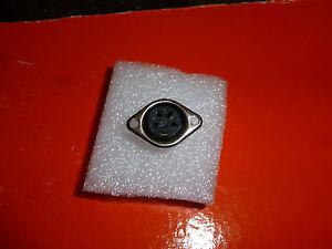 Details about  /3 Pin DIN Metal Connector Female  Socket Panel Mount Audio 2 PCS LOT