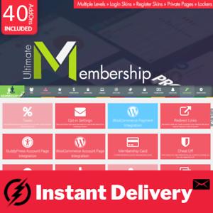 Ultimate Membership Pro Theme WordPress Membership Plugin Addons
