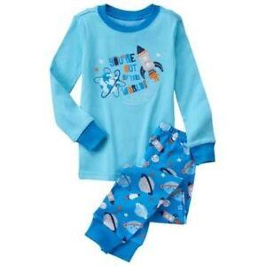 NWT Gymboree Boys Gymmies Pajama set Dozing Off  many sizes