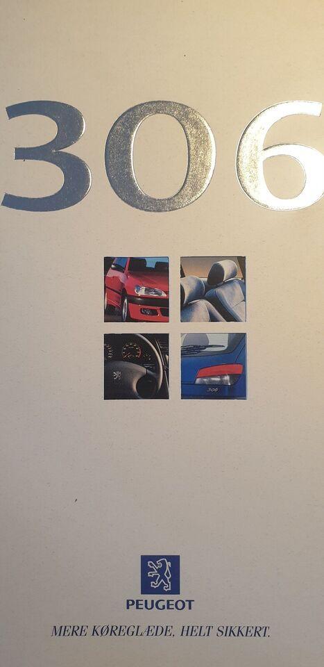 Brochure, Peugeot 306