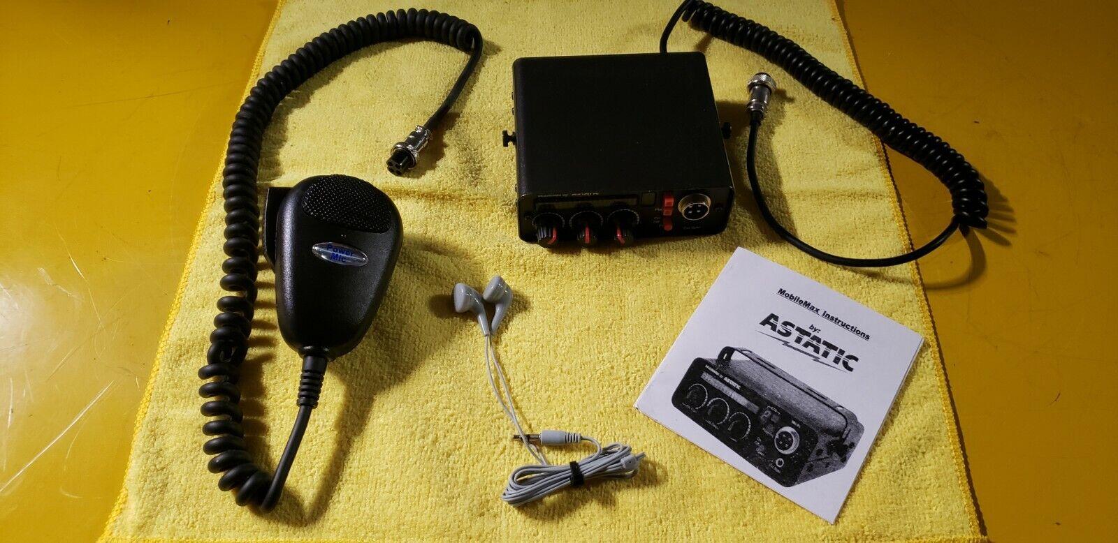 ASTATIC MOBILEMAX DIGITAL SOUND BOARD*MAGIC IN A BOX*9 UNIQUE ETS TONES*6SEC REC. Available Now for 649.00