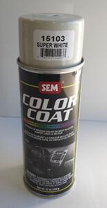 Sem 15103 super white aerosol vinyl/carpet auto paint ...