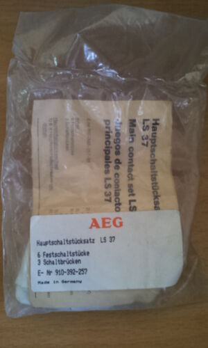 AEG MAIN CONTACT SET 3 POLE COMPLETE FOR  LS37 CONTACTOR  910-392-257