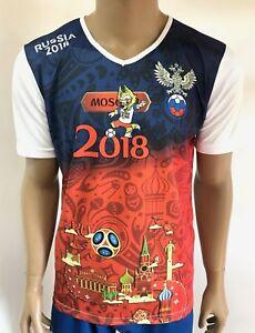 FORWARD-RUSSIA-WM-2018-FIFA-World-Cup-3D-T-Shirt-Russland-2018-S-M-L-XL-XXL