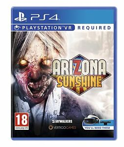Arizona-Sunshine-Psvr-PS4-Tout-Neuf-Scelle-PLAYSTATION-4