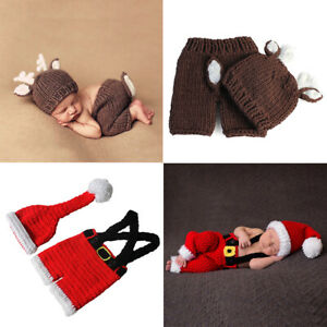 Newborn-Baby-Girl-Boy-Photo-Crochet-Photography-Prop-Costume-Outfit-Knit-Clothes
