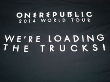 One Republic 2014 World Tour Local Crew T-shirt Size XL