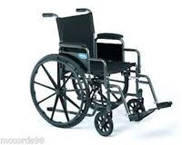 Invacare Folding Lightweight Wheelchair Wheel chair