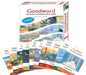 GOODWORD-ISLAMIC-STUDIES-GIFT-BOX-GRADE-1-TO-10-10-BOOKS-MUSLIM-CHILDREN
