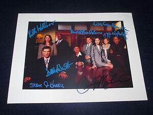 Television Entertainment Memorabilia Dylan Mcdermott Signed 8x10 Color Photo