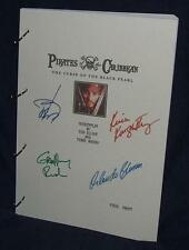 Movie Script - Cast Signed - Pirates Of The Caribbean