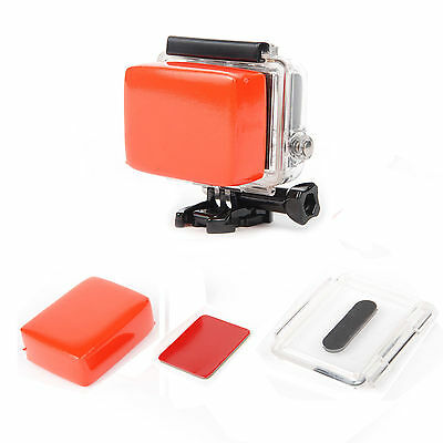 Floaty Float +Backdoor With 3M Adhesive Waterproof Case house For GoPro Hero 3+
