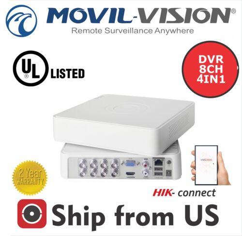 8CH+1IP DVR 1080p-Lite ANALOG//HDTVI//AHD UL Listed MS-TA8208GH