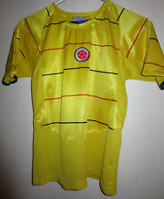 Colombia Soccer/Futbol Yellow Jersey Youth Size 10 - Givo