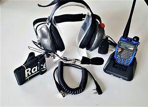 RACE RADIO ADD A CREW COMPLETE W/ UV-5R Blue