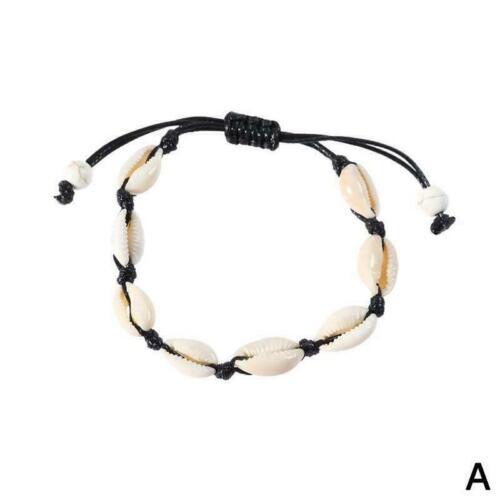 Natürliche Kauri Perlen Shell Fußkettchen Armband handgemachte-Strand S Fuß H0K6