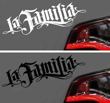 Autoaufkleber Sticker Aufkleber LA FAMILIA Familie Hater DEcal NEU OEM Tuning