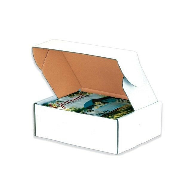 Thornton's Deluxe Literature Mailers, 14   x 10   x 4  , White, 50