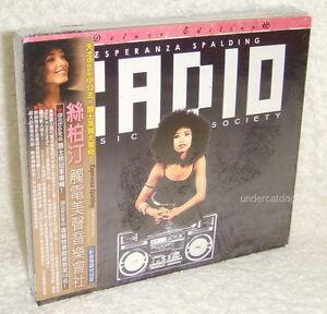 Details about Esperanza Spalding Radio Music Society Taiwan Ltd CD+DVD  w/OBI (Digipak)