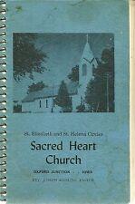 OXFORD JUNCTION, IOWA COOKBOOK - SACRED HEART CATHOLIC CHURCH - CZECH - 1960's