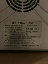 Yehsence 1500w Led Grow Light With Bloom And Veg Switch For Sale Online Ebay