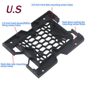 5-25-034-to-3-5-034-2-5-034-SSD-HDD-Tray-Caddy-Case-Adapter-Cooling-Fan-Mounting-Bracket