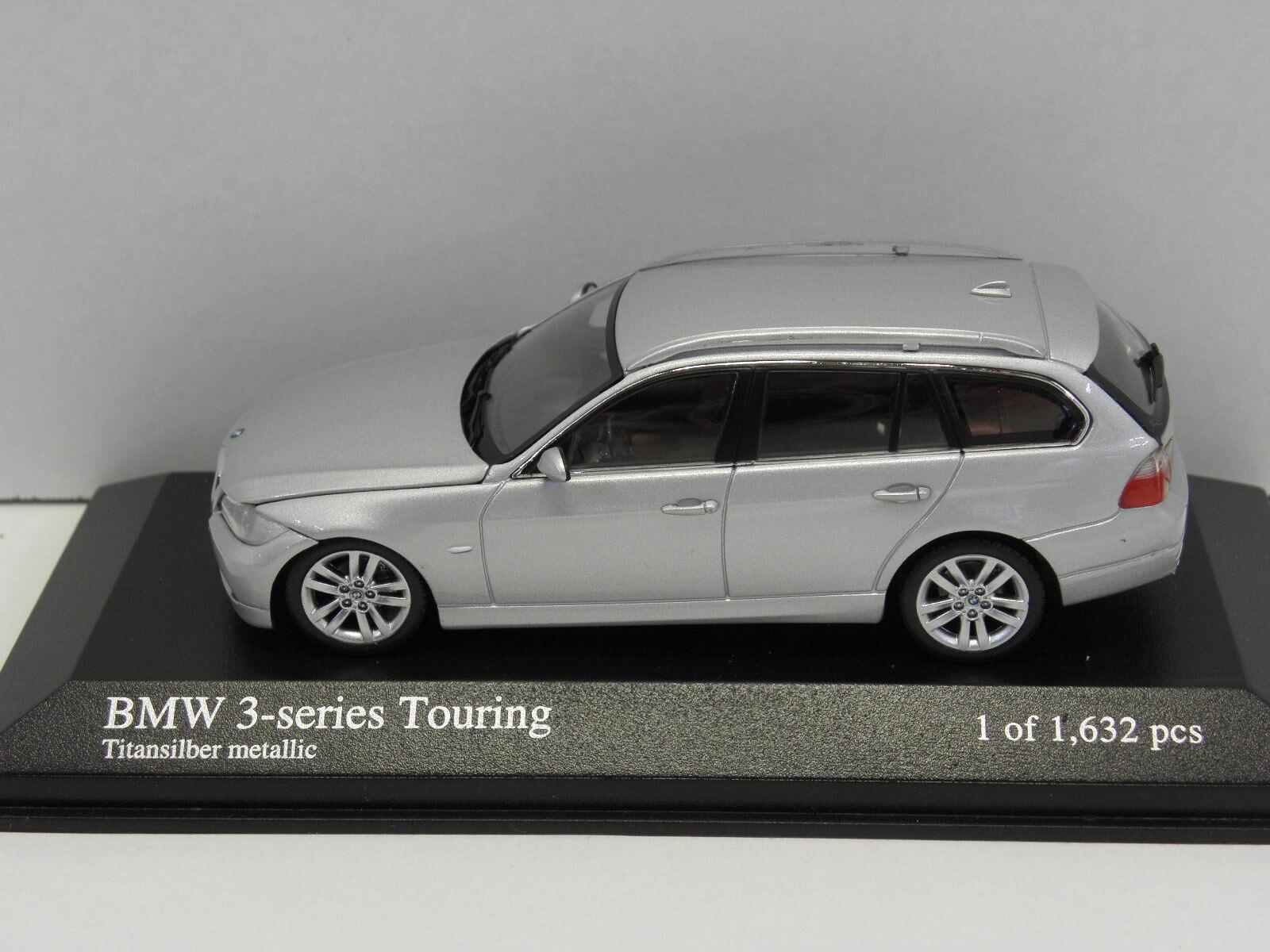 Minichamps 431024110 sammelmodell BMW 3-Series Touring 2005 m.1 43