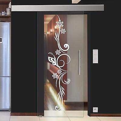 glasschiebet r schiebet r glas schiebe t r sd839 f gs design floral schmuckstein ebay