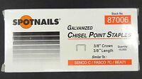 Spotnails 87006 71 C Series Staples 3 8 for Bostitch Bea Senco Staple Guns CASE Tools and Accessories