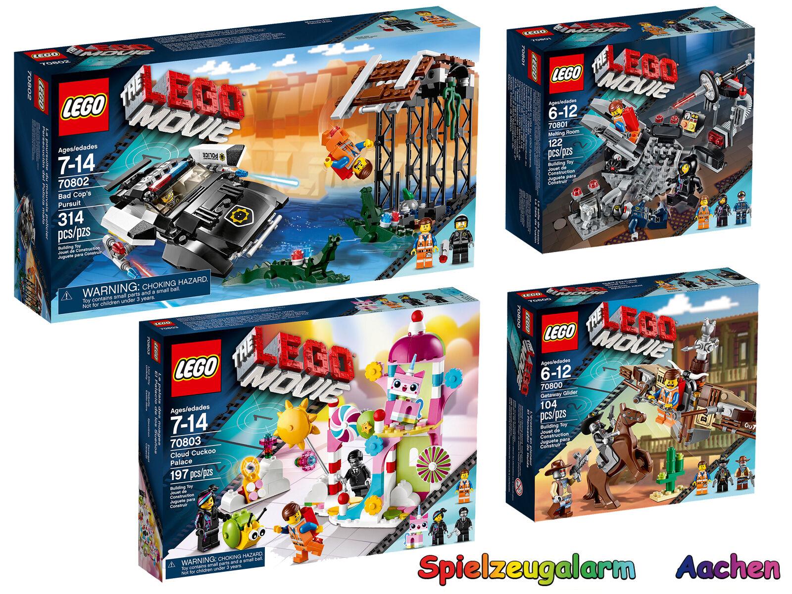 LEGO Movie set 70800 70800 70800 70801 70802 70803 Bad flics course poursuite palais Cloud 9105e9