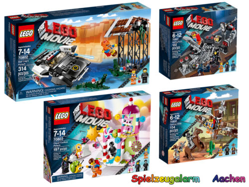 LEGO MOVIE Set 70800 70801 70802 70803 Bad Cops Verfolgungsjagd  Palast Cloud