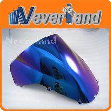 Windscreen Windshield Double Bubble for Honda CBR900RR 929RR 2000 2001 Iridium