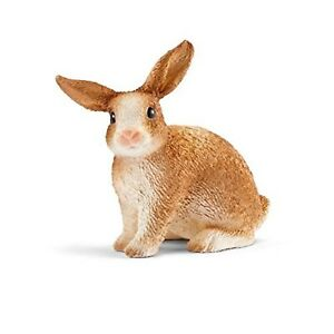 Schleich-Rabbit-Animal-Figure-NEW-IN-STOCK-Educational