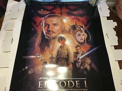 1990 99 Entertainment Memorabilia Star Wars Episode 1 The Phantom Menace 1999 Ss Original 27x40 Us Movie Poster Polarismarine Com Mt