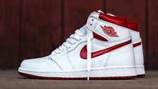 Nike Air Jordan Retro 1 HIGH OG SZ 12 Metallic Red Varsity White 555088-103