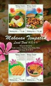 SJ-Malaysia-Hong-Kong-Joint-Issue-Local-Food-2014-Cuisine-ms-MNH