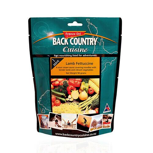 SINGLE Back Country Cuisine Lamb Fettuccine