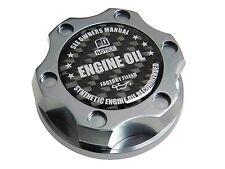 GUNMETAL SYNTHETIC BILLET RACING ENGINE OIL FILLER CAP FOR 05-12 FORD MUSTANG CF