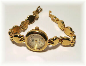 Vintage Q&Q Superior Quartz - Gold Toned Analog Ladies Watch