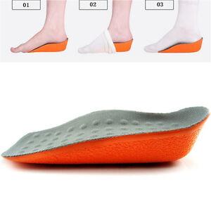 Insole Heel Lift Insert Shoe Pad Height Increase Cushion Elevator Taller Unisex